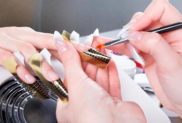 Дизайн гелевых ногтей обучение